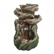 "22"" Rainforest 4-Tired Fountain with LED lights"