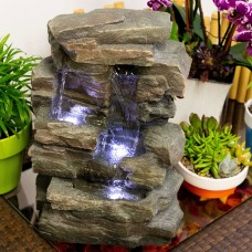 "14"" Tall Rainforest Tabletop Fountain"