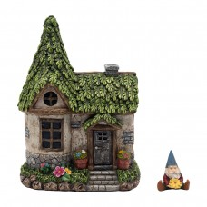 Mystic Estate Fairy House with Accessory