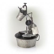 Garden Tools Metal Fountain