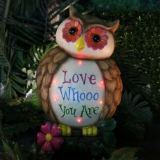 "18"" 'Love Whooo You Are' Owl Statuary"