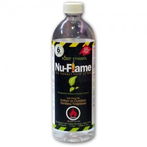 Nu Flame Ethanol Fuel 1 litter bottle Muti Packs