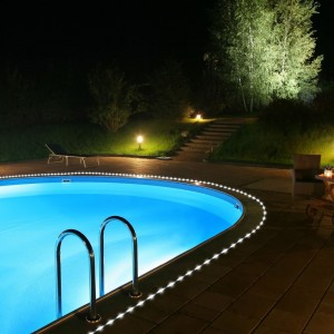 Flipo White Solar Rope LED Lights