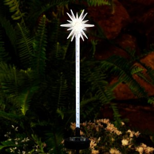 Solar Starburst Motion LED Garden Lighted Stake