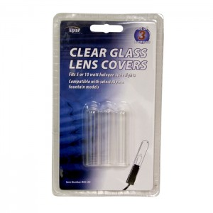 Clear Glass Lens Covers for Fountain Lights