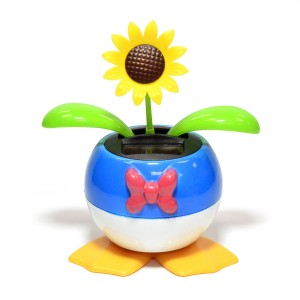 "5"" tall Disney Solar Dancing Flowers"