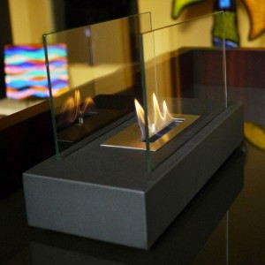 Nu Flame  Incendio Tabletop Bio Ethanol Fireplace