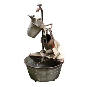 Garden Tools Metal Fountain