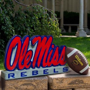 "12"" Tall University of Mississippi ""Ole Miss"" Logo"