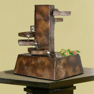 Eternity Step Stone Tabletop Fountain