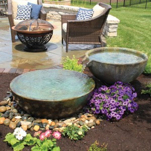Spillway Bowl and Basin Fountain Kit