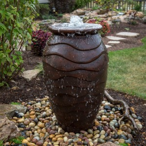 "45"" Scalloped Urn Fountain Kit"