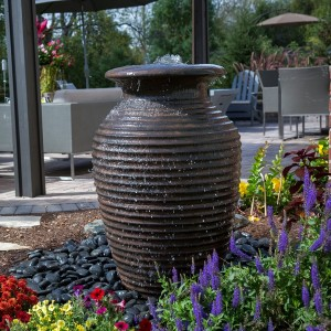 "45"" Rippled Urn Fountain Kit"