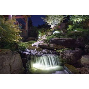 1-Watt LED Waterfall and Up Light