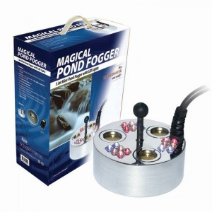 Alpine Mini Pond Fogger 3-Head w/ Floating Ring