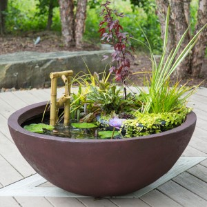 European Terra Cotta Patio Planter