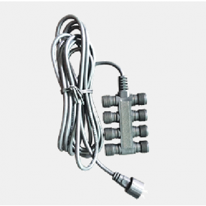 Replacement Light Strand with (8) 2-Prong Connectors