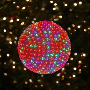 """13"""" Jumbo Flashing Sphere with LED Colored Lights"""