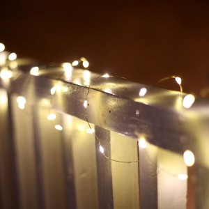 60 Silver Copper String Lights- TM