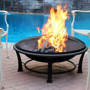 "35"" Golden Brush Fire Pit"
