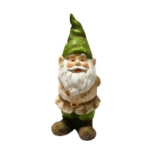 "12"" Tall Gnome With hands behind him"