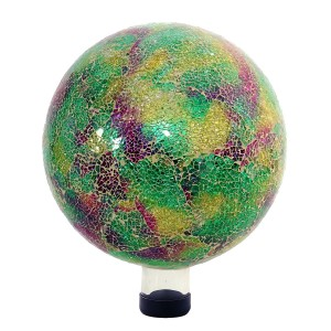 Green Mosaic Gazing Globe