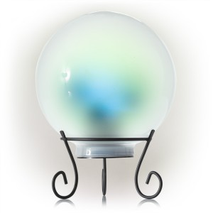 """8"""" Color Changing Gazing Globe with LED Lights"""