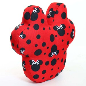 "13"" Disney's Minnie Mouse Shaped Outdoor Pillow"