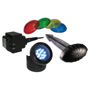 Alpine LED Garden Light w/ Photocell & Transformer