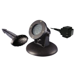 Alpine Pond & Landscape LED Light w/ Photocell & Transformer - Aluminum