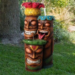 3 Tier Tiki Fountain