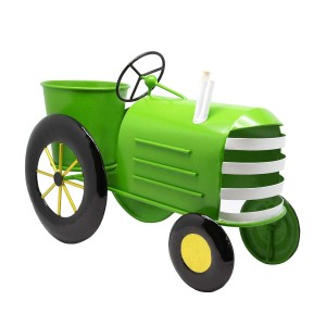 "10"" Tall Tractor Planter"