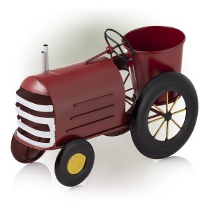 """10"""" Tall Tractor Planter"""