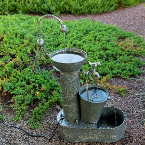 Tiering Metal Fountain