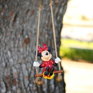 "7"" Minnie Swing N Ring Hanging Decor"