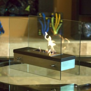 Nu Flame Ethanol Tabletop Fireplace - Ardore