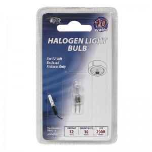10 Watt 12 Volt Halogen Replacement Bulb