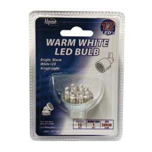12 Volt 12 LED Warm White Light Replacement Bulb