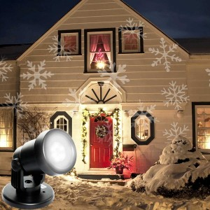 Snowflakes Projector Lights with Plu