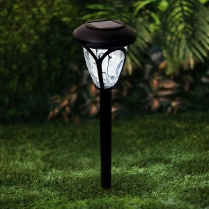 Solar Dark Brown LED pathway Light