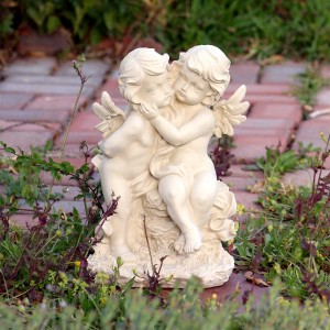 Double Cherub Angel Statuary
