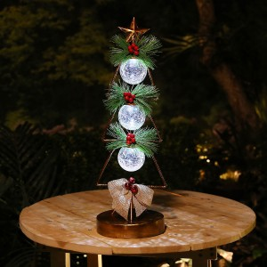 "20"" Outdoor Christmas Tree Greenery Tabletop Décor"