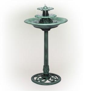"35"" Tall 3-Tier Outdoor Fountain"