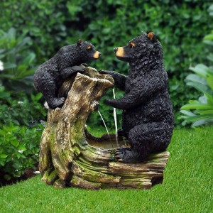 Bear and Cub Fountain