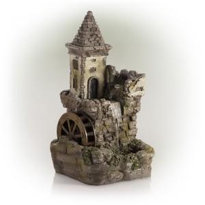 Castle Fairy Garden Fountain