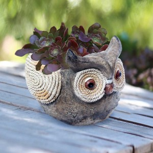 Owl Rope Planter