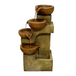 "17"" Tall Tiering Pots Fountain"