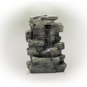 """14"""" Tall Rainforest Tabletop Fountain"""
