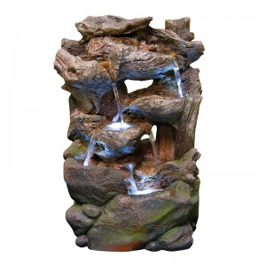 Rainforest Waterfall Fountain Small w/ LED Light