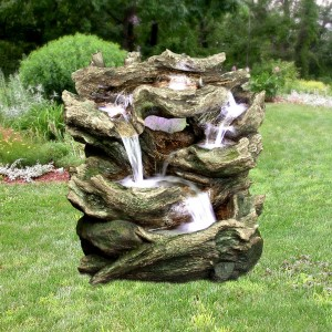 Rainforest Tiered Fountain wih LED Lights